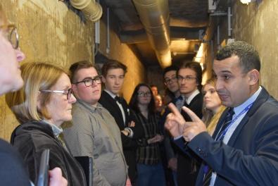 Ministère des Outre-mer - Visite du bunker